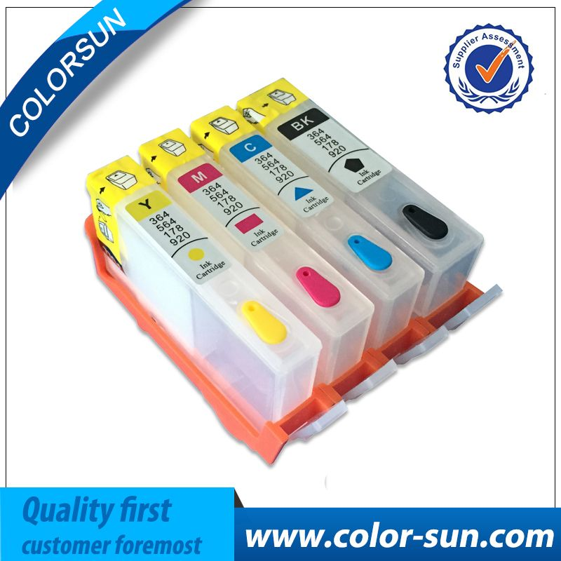1 Set Pour HP 934 935 Cartouche D'encre Rechargeable Avec puce 934XL 935XL pour HP OfficeJet Pro 6230 6830 6820 imprimante