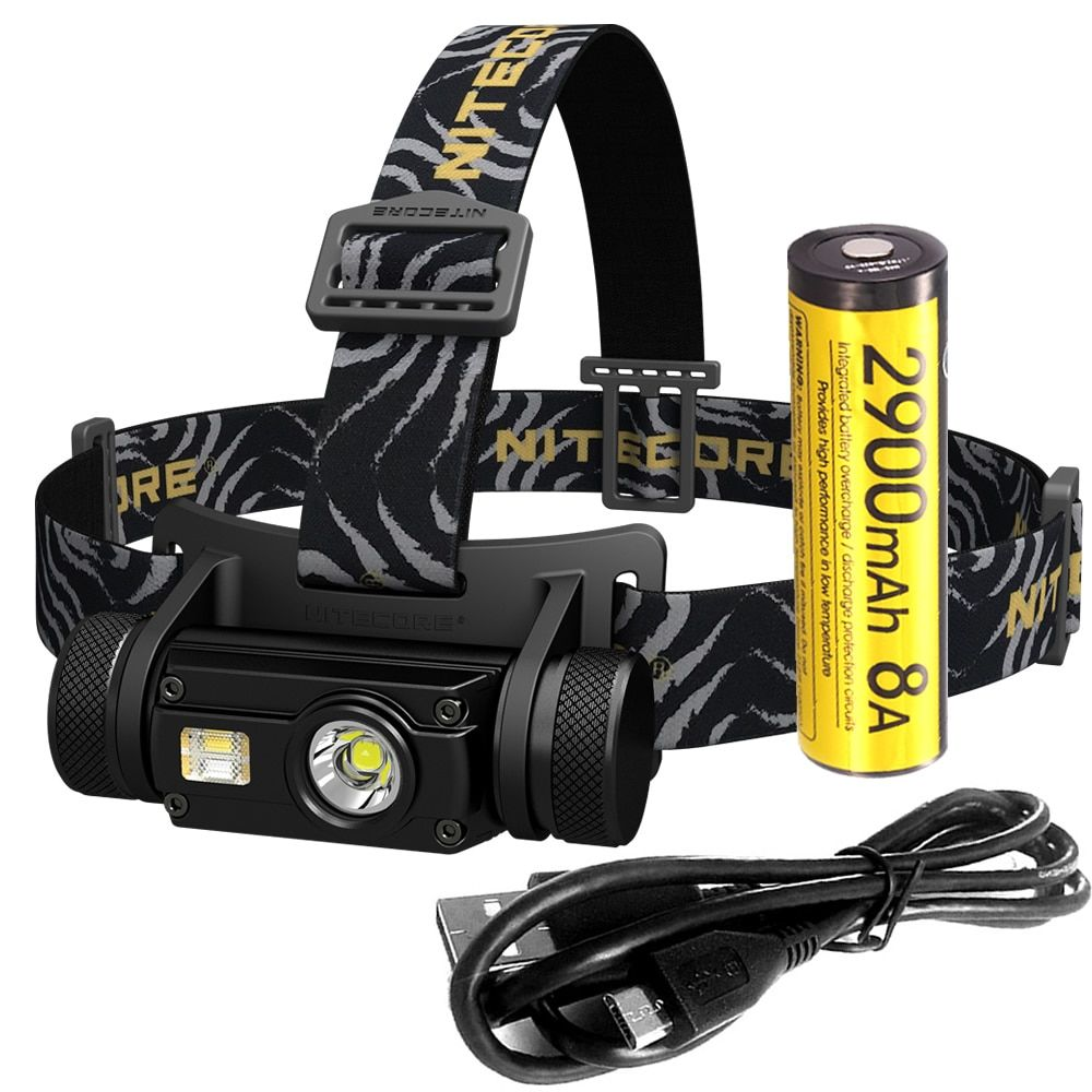Top Sales NITECORE HC65 1000 LMs Headlight -40C Low Temperature Resistant Rechargeable Battery Headlamp Waterproof Free Shipping