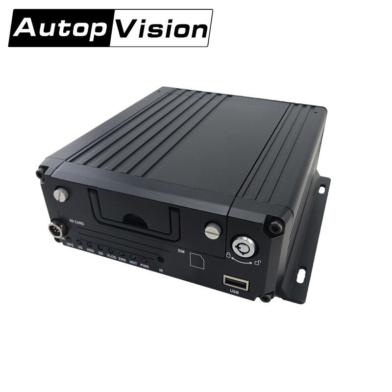 MDR8814 free shipping 720p HD car mobile DVR 4ch Support IOS/Android Phone Remote monitor for Business professional DVR