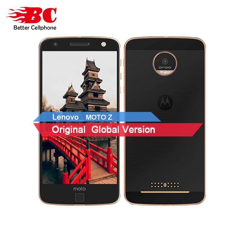 Original Motorola MOTO Z XT1650-05 Quad Core Smartphone 4 gb RAM 64 gb ROM 4g LTE 5,5 zoll 2560X1440 Android 6.0 13.0MP 2600 mah