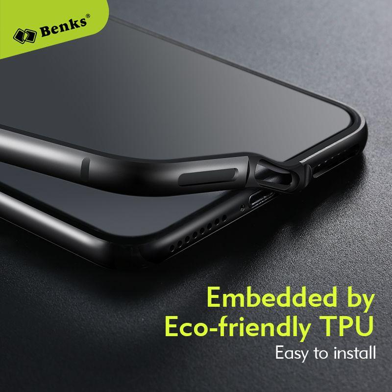 Benks De Luxe Téléphone Cas Pour iPhone 8 7 Butoir En Aluminium TPU Hybride Antichoc Couverture de Butoir pour l'iphone 8 7 Plus 7 plus cadre