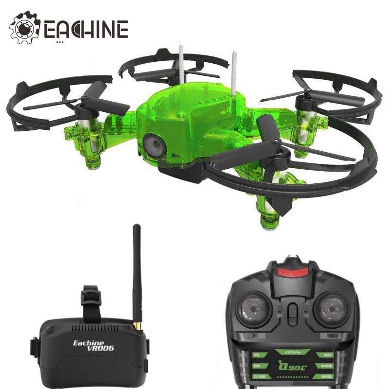 Eachine Q90C Flyingfrog FPV Racer Quacopter 1000TVL Camera VR006 Goggles Switch Freq Transimitter VS Eachine E013 Flyingfrog Q90