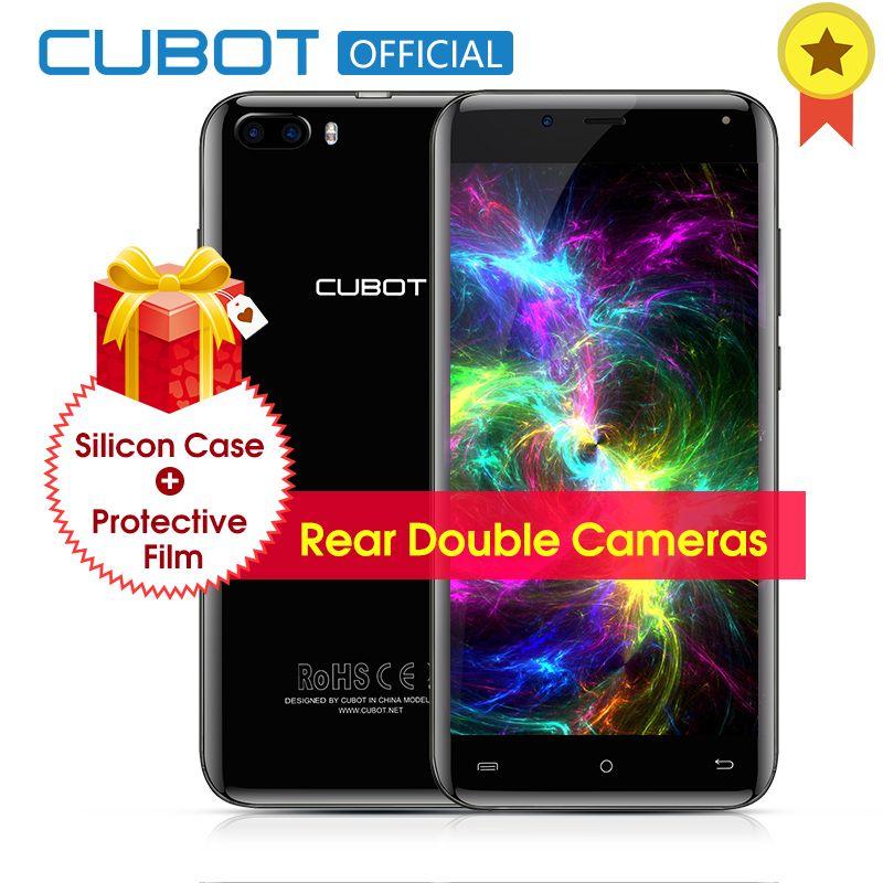 Original Cubot Magic Curved Display MT6737 Quad Core Rear Dual Cameras Smartphone Android 7.0 3GB RAM 16GB ROM 5.0