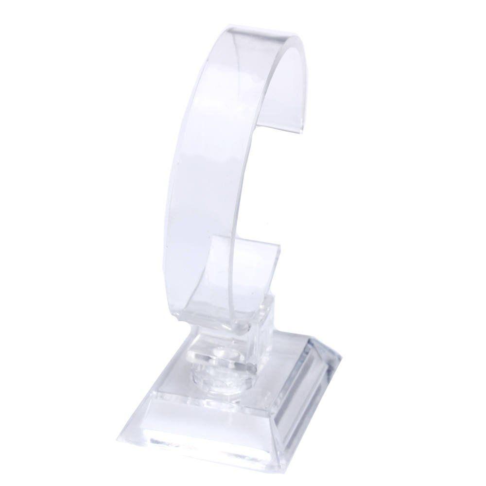 6 x Plastic Jewelry Bangle Cuff Bracelet Watch Display Stand Holder