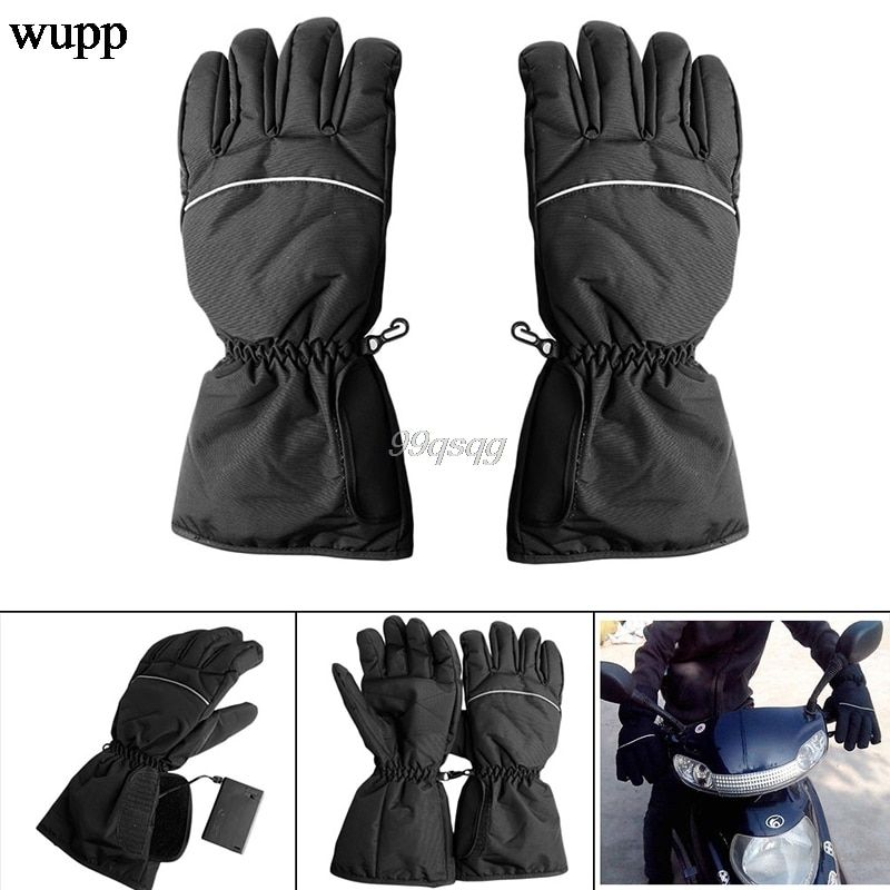 Motorcycle Outdoor Hunting Electric Warm Waterproof Heated Gloves Battery Powered For Motorcycle Hunting Winter Warmer Drop ship