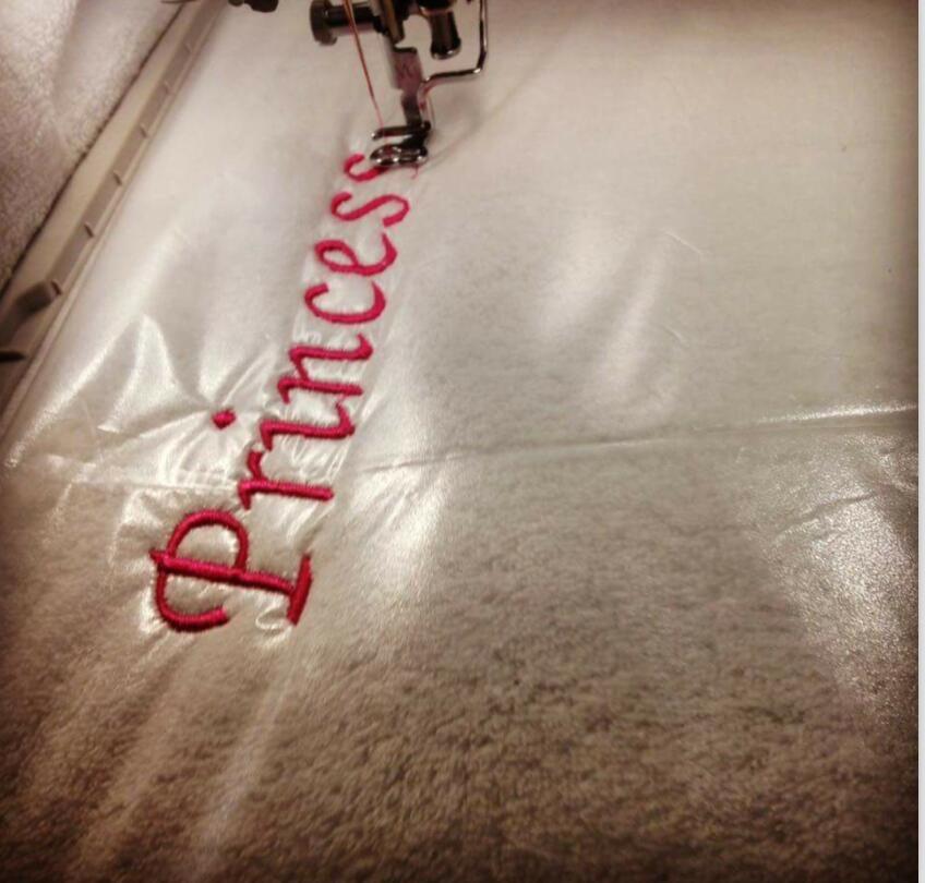 Stabilisateur de broderie à laver Simthread 35um film de garniture Transparent soluble dans l'eau froide rouleau de 10 yards