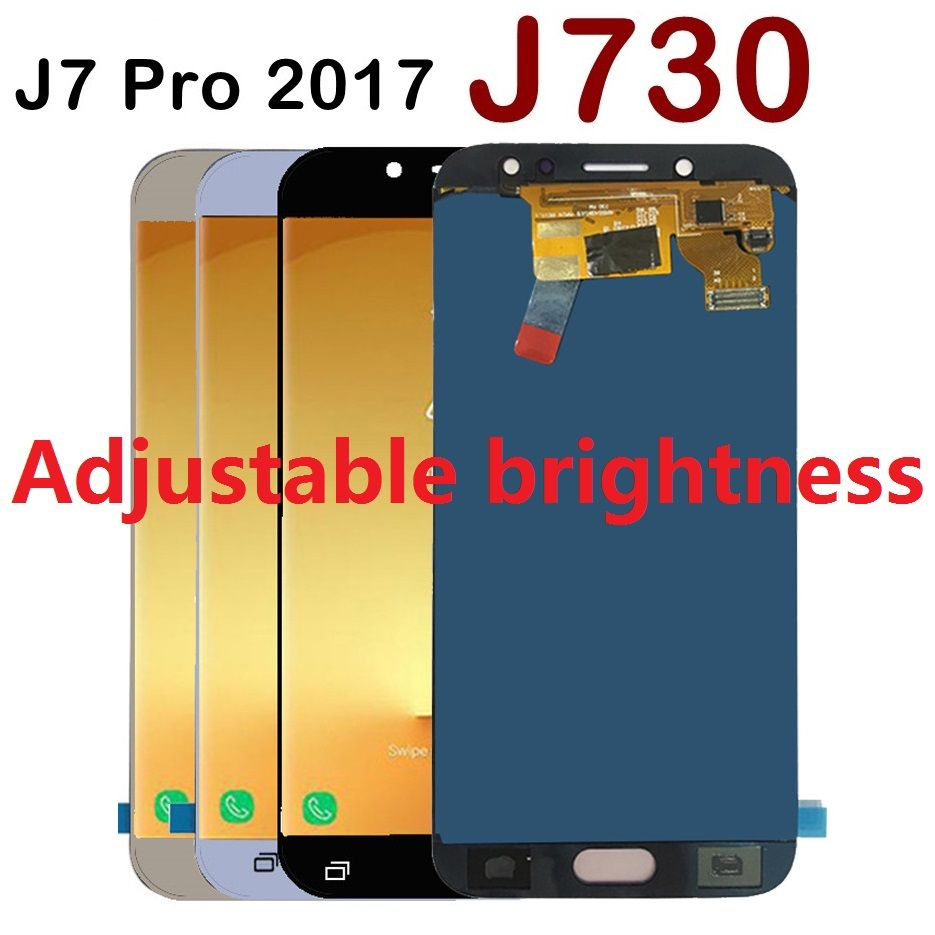 For Samsung Galaxy J7 Pro 2017 J730F J730FN J730F/DS J730G J730M LCD Screen Display Touch Digitizer Sensor Assembly +Adhesive