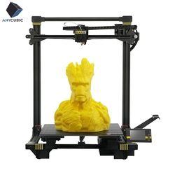 ANYCUBIC Chiron 3D Drucker Plus Größe TFT Auto-leveling Titan Extruder Dual Z Axisolor Düse Impressora 3D Kit Gadget 3d Drucker