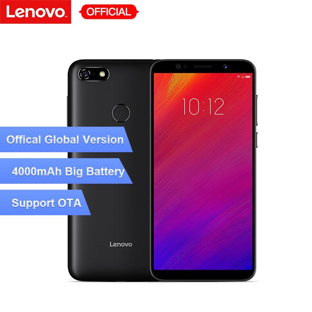 Mondial Version Lenovo A5 3 gb RAM 16 gb ROM Mobile Téléphone MTK6739 Quad Core 5.45 Téléphone Intelligent D'empreintes Digitales 4G-LTE Téléphone Portable