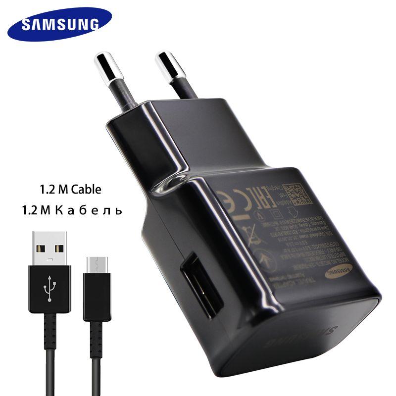 100% D'origine Samsung Galaxy S8 S8 plus Rapide Chargeur Type-C D'adaptation Rapide Chargeur UE/ÉTATS-UNIS/KU note 8 Voyage De Charge 9 V 1.67A & 5V2A
