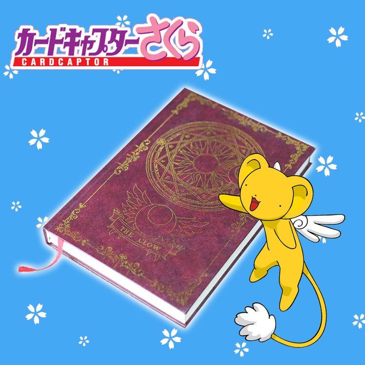 Nouvelle carte Captor Sakura Sakura destin noir majordome Cosplay cahier cercle magique livre Anime écriture Journal accessoires