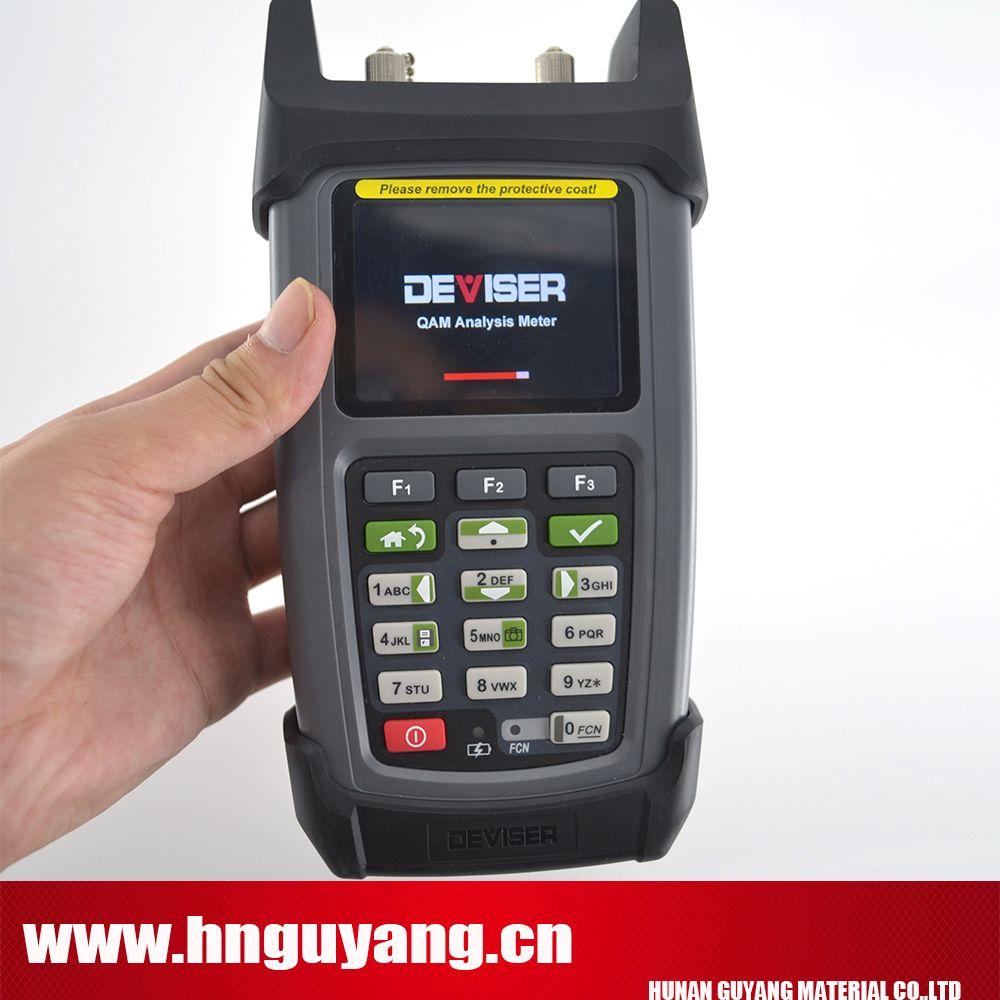 Erfinder DS2460Q catv QAM Analyse Meter Schnelle spektrum analyse gebaut in TDR