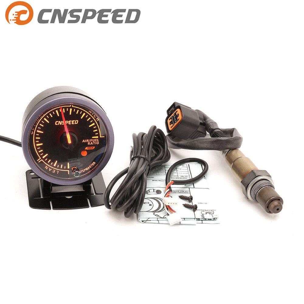 Free Shipping CNSPEED 60mm Car Auto Air Fuel Ratio Gauge & Narrowband Oxygen Sensor O2 Rear For 01-06 Hyundai 2.0L Car Meter