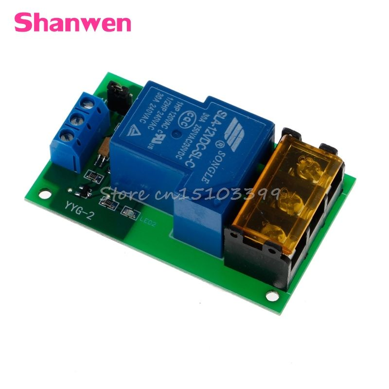 1 Kanal 12 V 30A Relais Board Modul Optokoppler Isolation High/Low Trigger G08 Drop ship