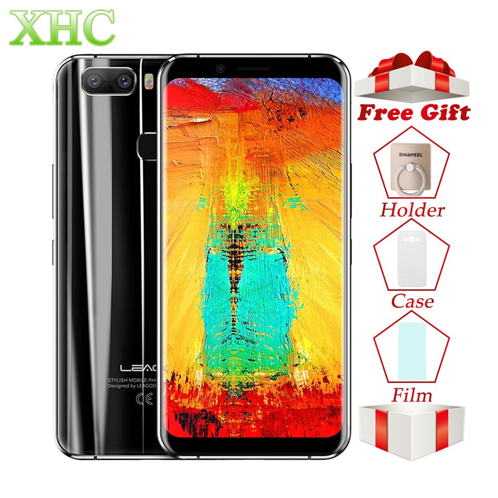 LEAGOO S8 PRO 5.99'' Full Screen Smartphones Android 7.0 Octa Core RAM 6GB ROM 64GB Dual SIM 13MP 2160*1080 FHD+ 4G Mobile Phone