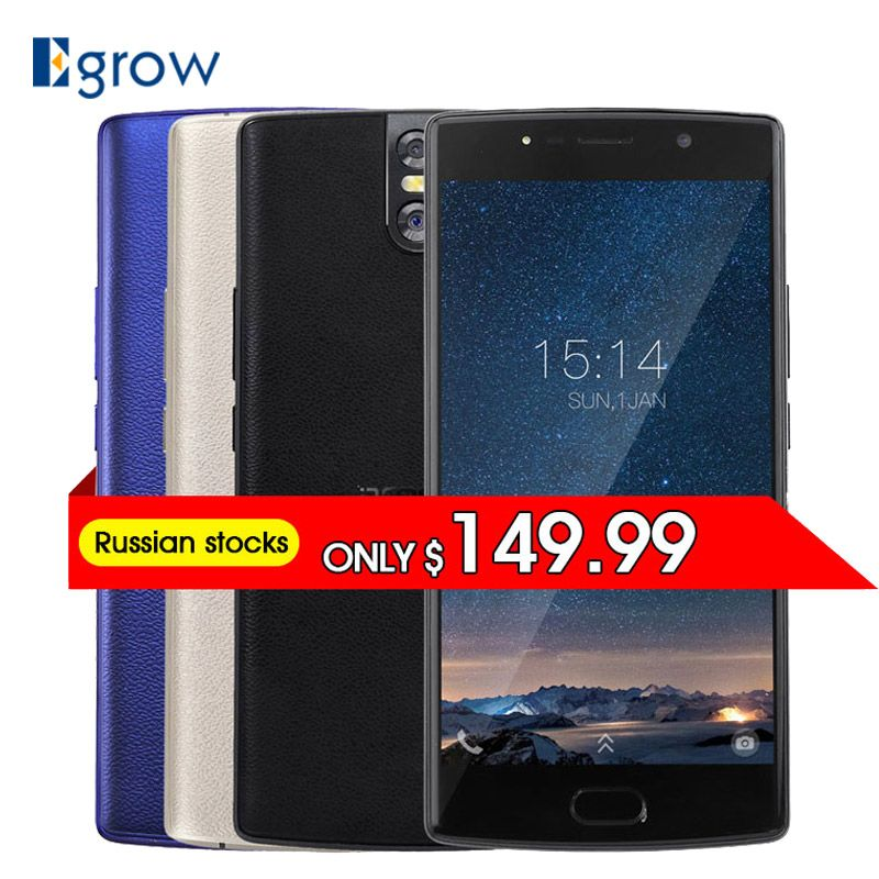 DOOGEE BL7000 13MP Dual Rear-Cam Android 7.0 7060mAh 12V2A Fast Charge 5.5'' FHD MTK6750T Octa Core 4GB RAM 64GB ROM Smartphone