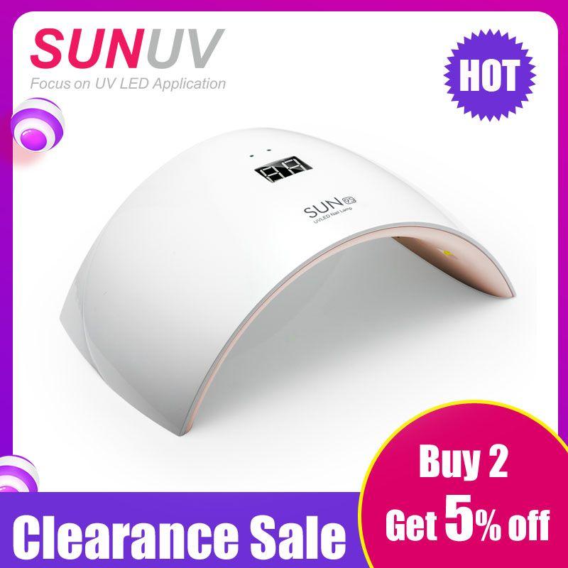 SUNUV SUN9s 24 W UV LED Lampe pour Ongles LED Sèche-Polonais Machine pour le Durcissement des Ongles Gel Art Outils