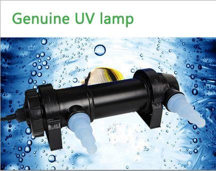 Lampe germicide l'enlèvement Des Algues Aquarium UV Stérilisateur 5-36 w Lampe Clarificateur Étang Poissons des Récifs Coralliens Réservoir Stérilisation lampe