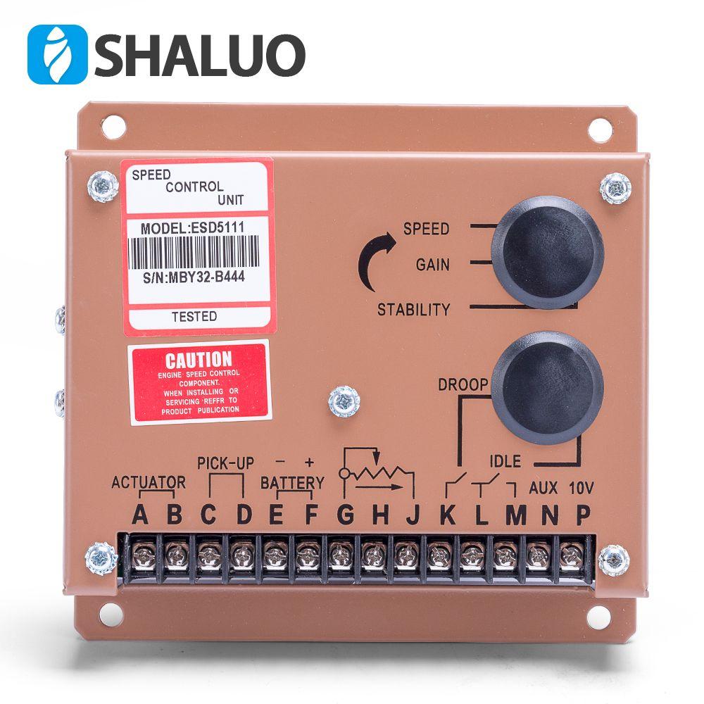 Motor Motor Geschwindigkeit Regler ESD5111 diesel aggregat einstellung controller netzteil ac generator teil 12 v 24 v geschwindigkeit govornor