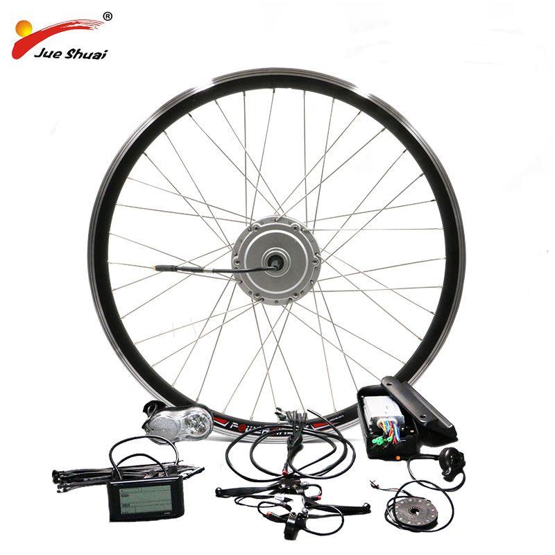 BAFANG 36 v 48 v 250 watt 350 watt 500 watt Motor Ebike Kit mit Front Hub Motor Hohe Qualität 8FUN Motor Fahrrad Elektrische Bike Conversion Kit