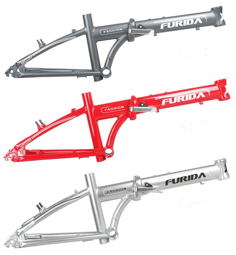 Cadre de vélo haut de gamme vtt 2017. Pliant Bicycle.20er Bmx cadre de vélo En Alliage D'aluminium Cadre Comprend Une Fourche Avant!