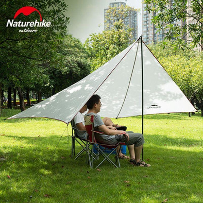 Naturehike Sun Shelter Waterproof Awning Canopy Tent Beach Tent Beach Shade Tarp Pergola Camping Sunshade Anti UV Gazebo 0.57KG