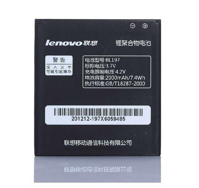Hohe Qualität BL197 (2000 mAh) Batterie für Lenovo A820 S889T S720 A800 A798T MTK6577 MTK6589 handys