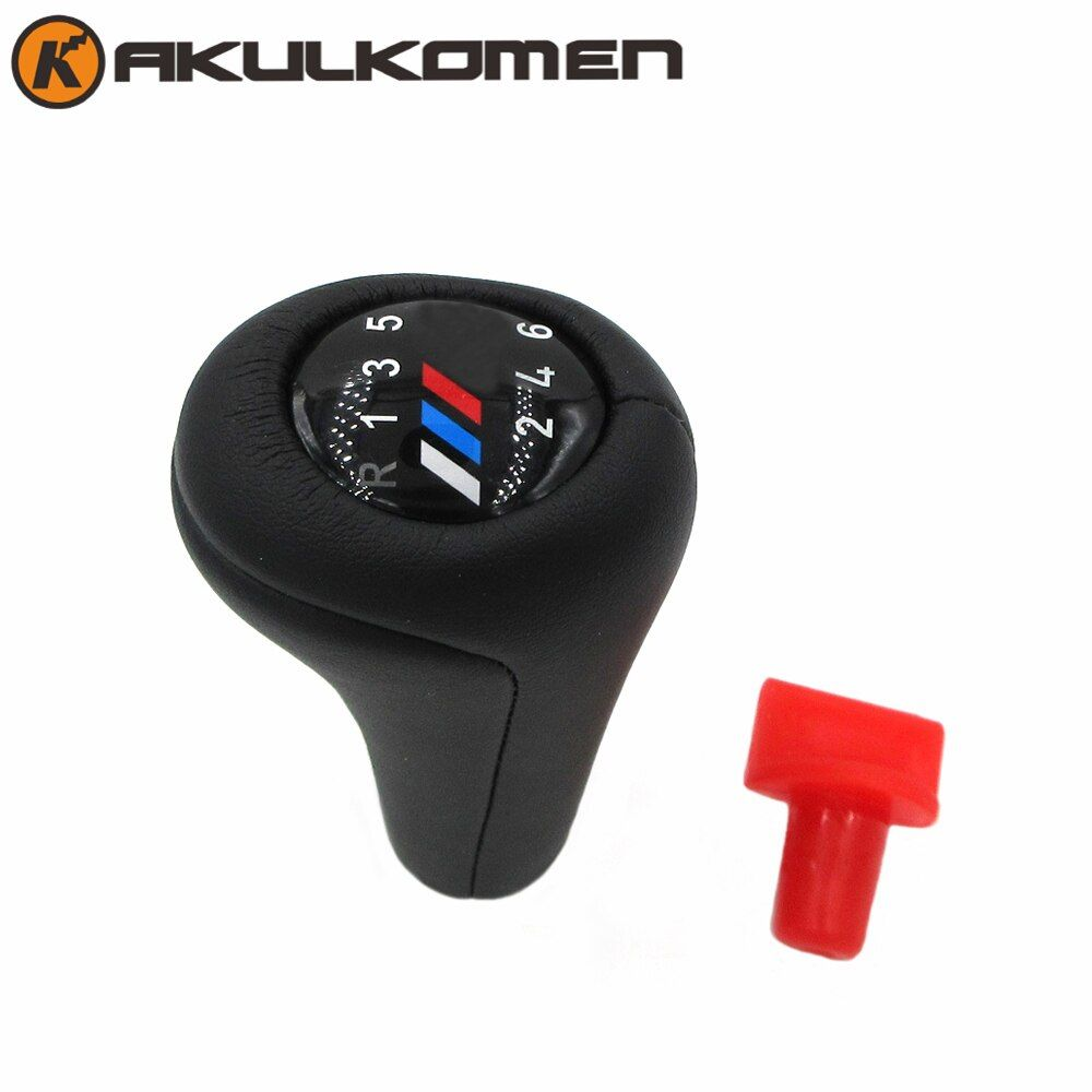 5 Speed 6 speed Car Gear Shift Knob Real Leather For BMW M sport 1 3 5 6 Series E30 E32 E34 E36 E38 E39 E46 E53 E60 E63 E83 E90