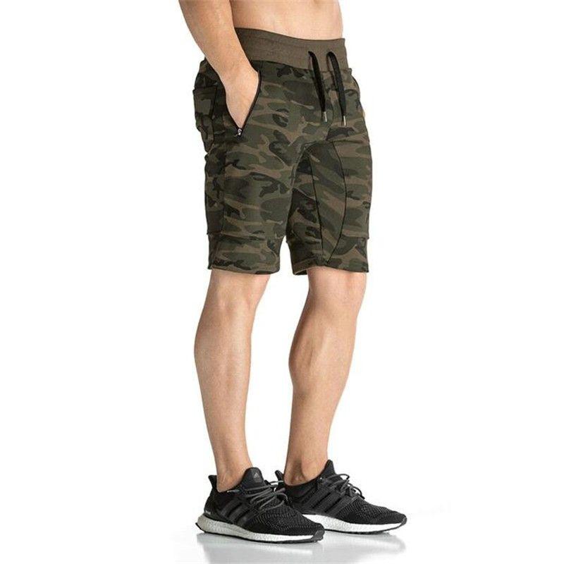 2016 Новая Мода Камуфляж Для Мужчин's Шорты для женщин Повседневное Лето Шорты для женщин бодибилдинг Короткие штаны вздох