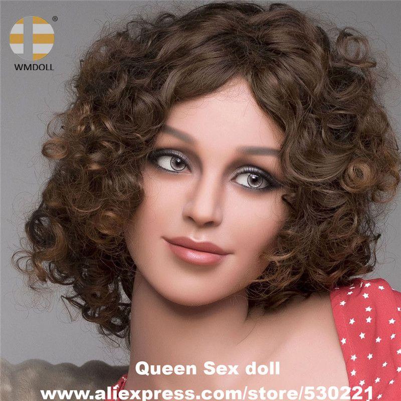 Nuevo wmdoll realista de calidad superior Juguetes sexuales cabeza realista de silicona amor muñeca maniquí sexy sexual productos