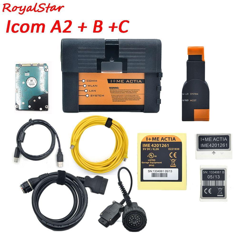 Für BMW diagnose ICOM A2 B C Diagnose & Programmer Tool ICOM V12.2018 software für BMW ICOM A2 schnelle schiff