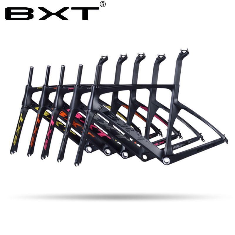 2018 BXT carbon bike frame 960g light UD weave bike frameset new design with fork free shipping di2 bike carbon road frame