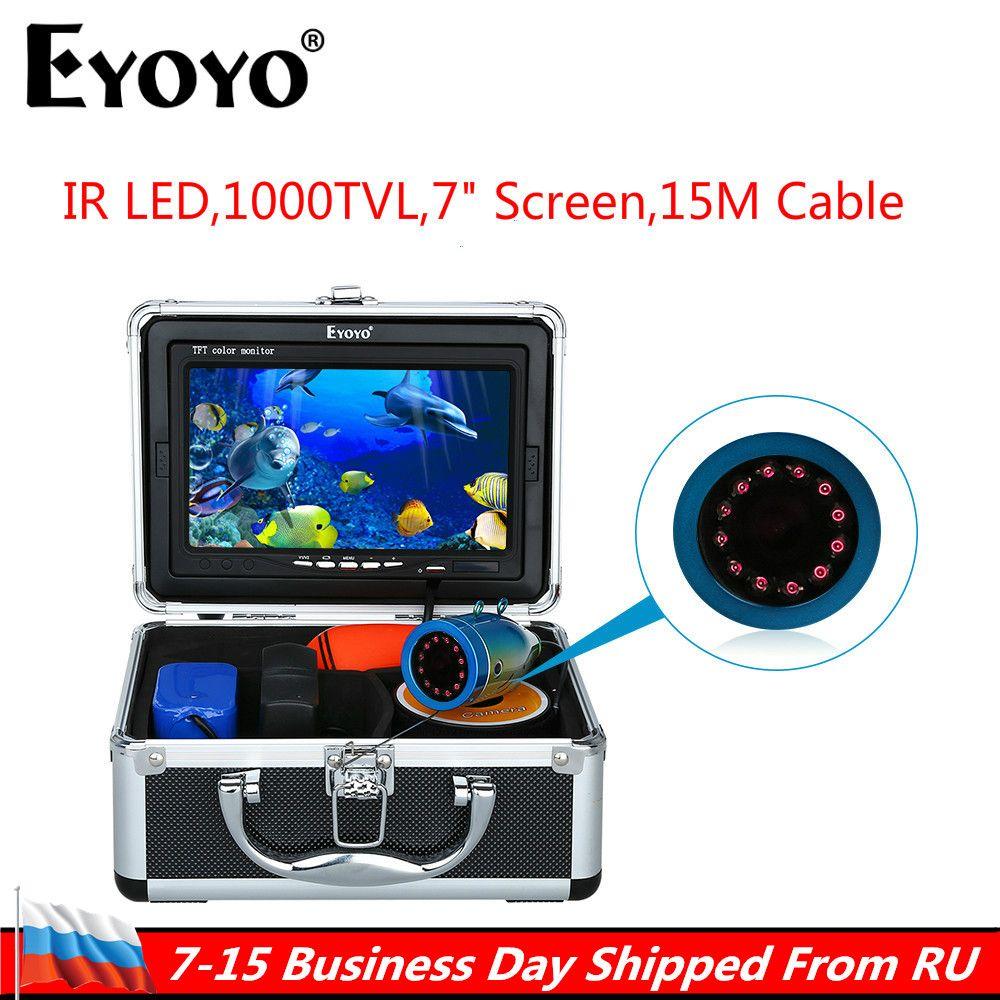 Russian Local delivery! Eyoyo Original 1000TVL Fish Finder Underwater Fishing 7