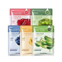 Hanchan Soins de La Peau Aloe Miel Olives Grenade Masque Facial Hydratant Blanchissant Éclairer La Peau Beauté Visage Masque Soins