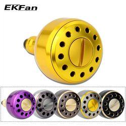 Ekfan 2000 Series Desain Baru Mesin Logam Fishing Reel Pegangan Knobs untuk Umpan Casting Spining Gulungan Memancing Aksesori