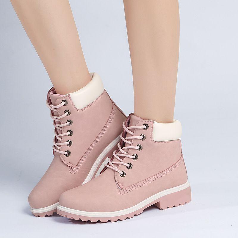 2018 Chaude Nouvelle Automne Début D'hiver Chaussures Femmes Talon Plat Bottes Mode Garder au chaud Femmes Bottes de Marque Femme Cheville botas Camouflage