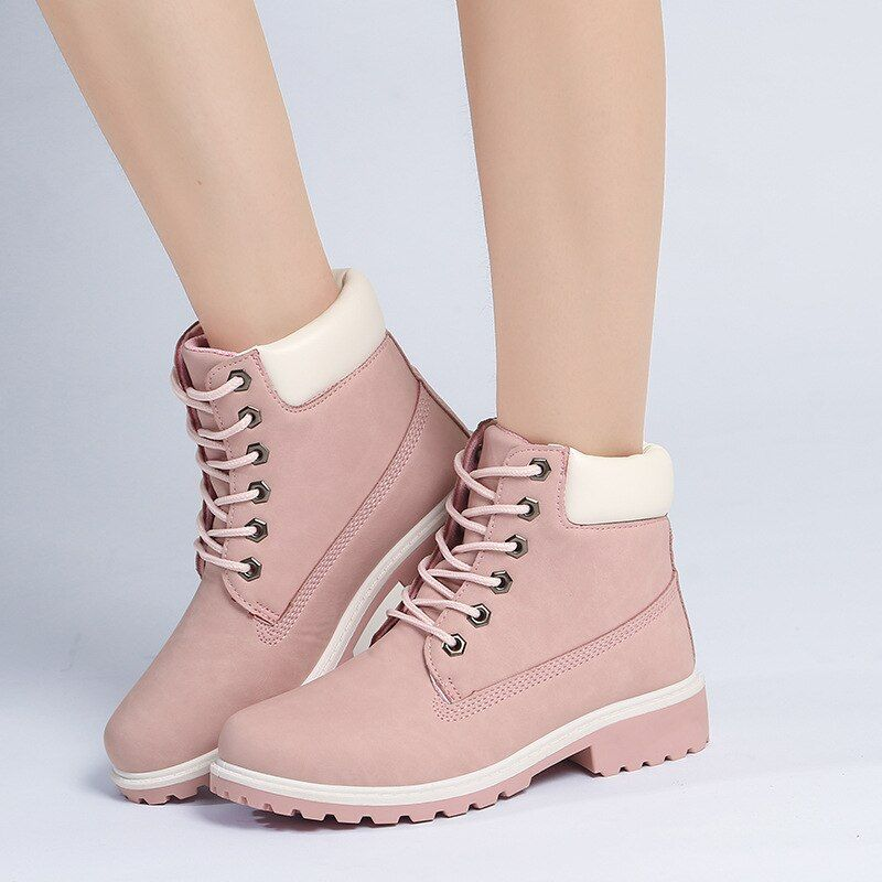 2018 Hot New Autumn Early Winter Shoes Women Flat Heel Boots Fashion Keep warm Women's Boots Brand Woman Ankle Botas Camouflage