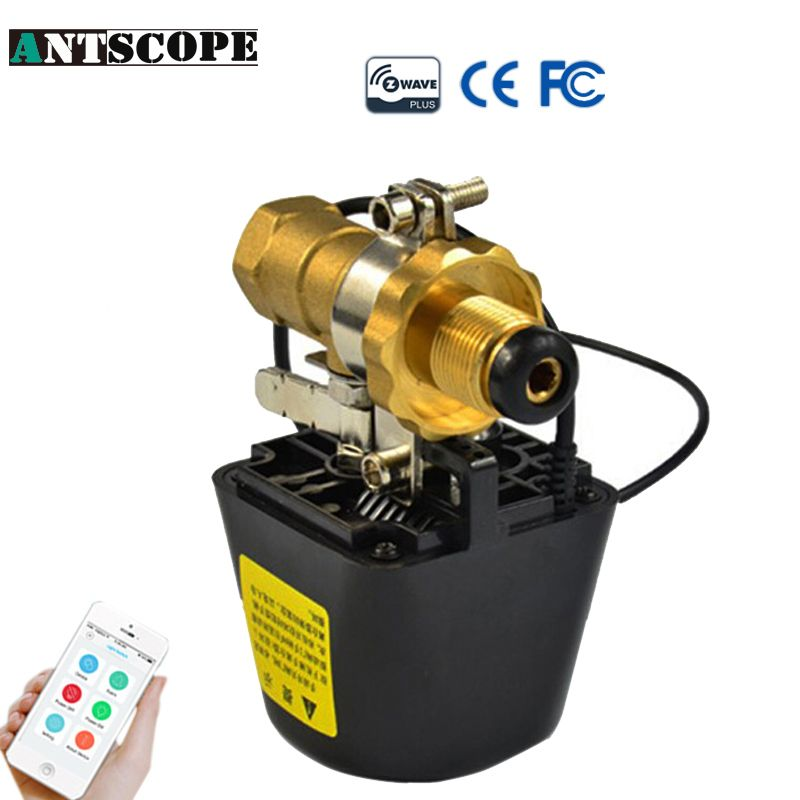 Antscope Z-Wave Smart Home System Valve 868.42mhz For EU Gas Water Control 12V 1A Compatible Z wave Technology