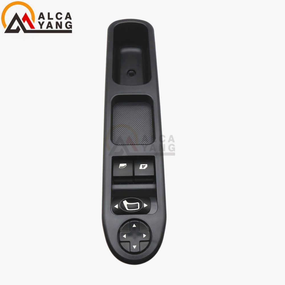 Electric Master Control Power lifter Window Switch 6554.QC For <font><b>Peugeot</b></font> 207 Citroen C3 Picasso 2007-2014