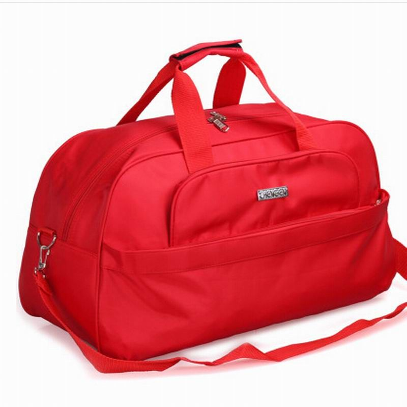 2018 moda plegable hombro portátil bolsa de viaje impermeable bolsa de viaje del equipaje de gran capacidad viajes Tote hombres y mujeres