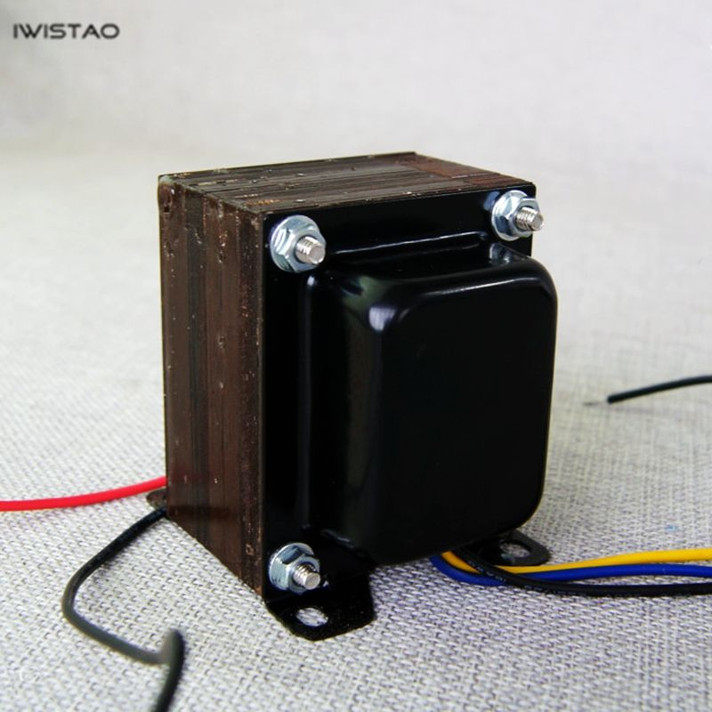 IWISTAO 7W Output Transformer Tube Amp Z11 Single-ended Silicon Steel EI Transformers Power Audio HIFI for FU7/300B/6P3P/KT88