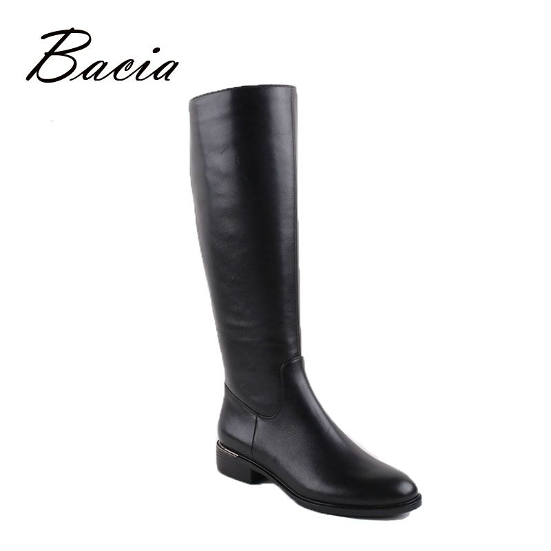 Bacia Russian original design Boots Knee-high Platform Boot Genuine Leather Quality Shoes Handmade Footwear Women Botas VC001