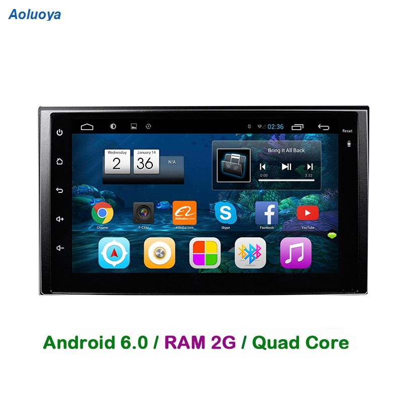 Aoluoya RAM 2GB Android 6.0 CAR DVD GPS Player For KIA Sportage 2004-2009 sorento 2002-2009 carens 2006-2010 carnival 2006-2011
