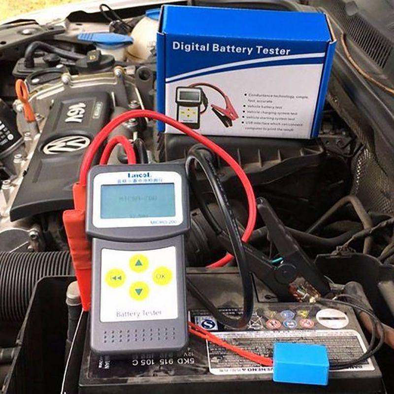 Lansl MICRO200 Digitale Batterie Tester 12V Batterie Kapazität Tester CCA Auto Batterie Diagnose Werkzeug Batterie Analyzer