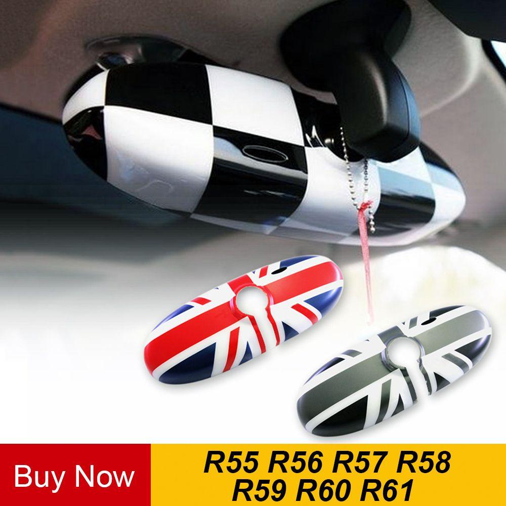 Auto Rückansicht Spiegel Fall Abdeckung Aufkleber Decor Auto-Styling Für BMW MINI Cooper JCW S One + R55 r56 R57 R58 R59 R60 R61 Countryman