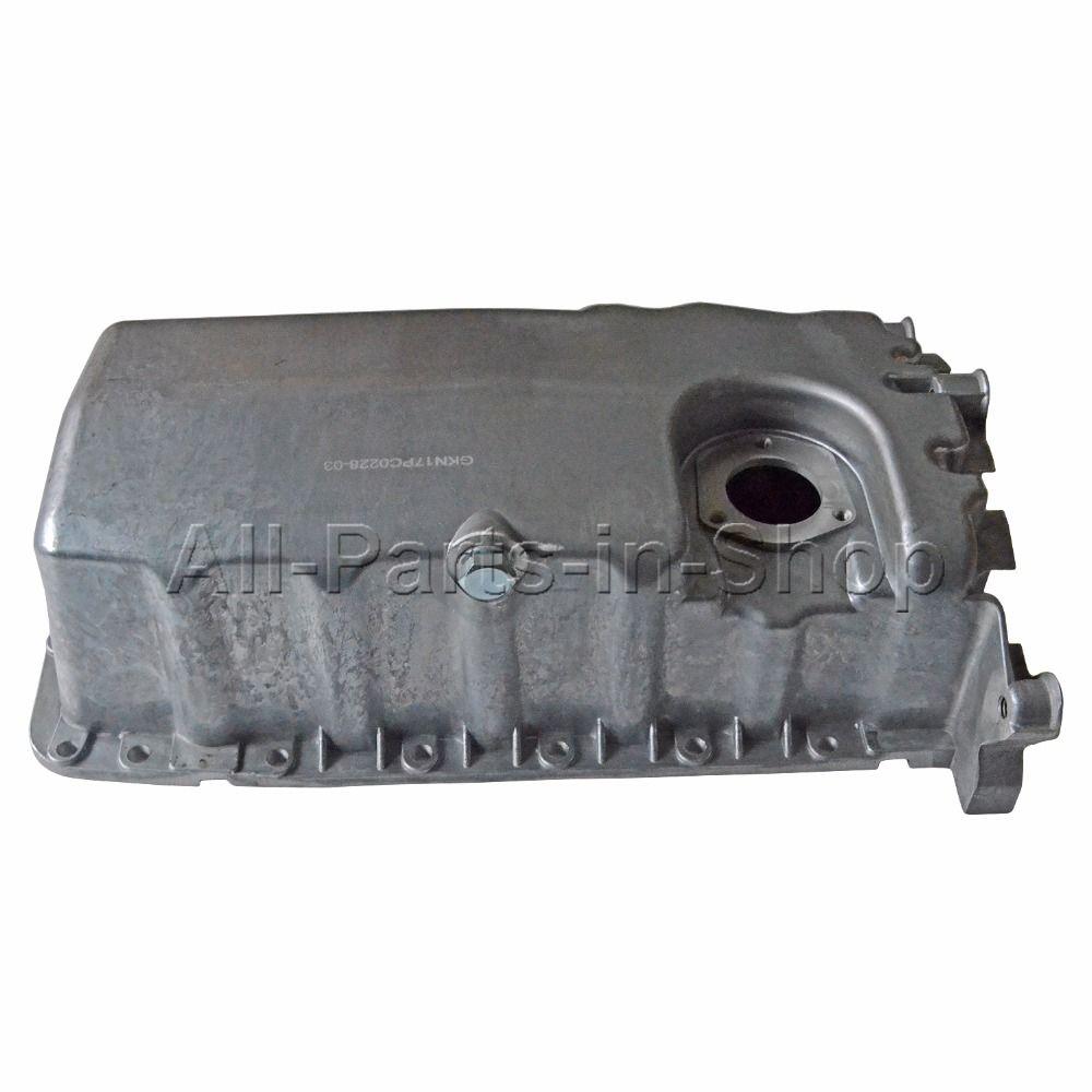FOR VW BEETLE JETTA GOLF MK4 1.6 2.0, 1.9 TDi ALLOY OIL SUMP PAN WITH SENSOR HOLE 038 103 603 N,038103603N,038103603