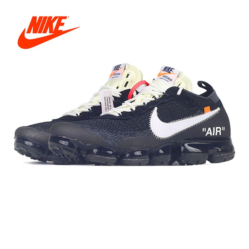 Official Original limited Nike X OFF-WHITE AIR VAPORMAX OFW men's running shoes outdoor classic sports shoes Athletic AA3831