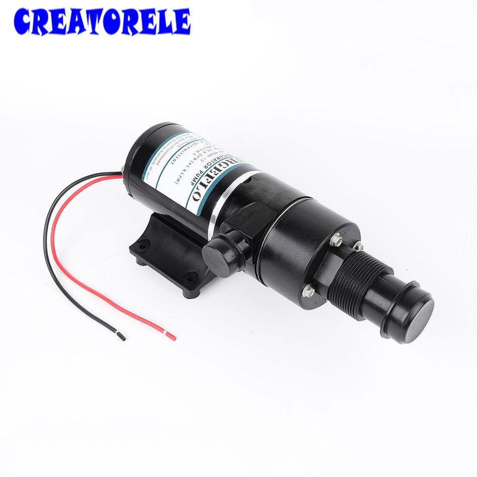 MP-4500-12 12 v dc Macerator 45L/min centrifuai cale pompe à eaux usées haute pression pompes à eau auto-amorçantes