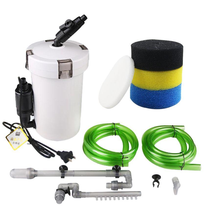 Sunsun filtre d'aquarium ultra-silencieux externe filtre d'aquarium seau 110 V-220 V/6 W/HW-602/HW-603 /HW-602B/HW-603B