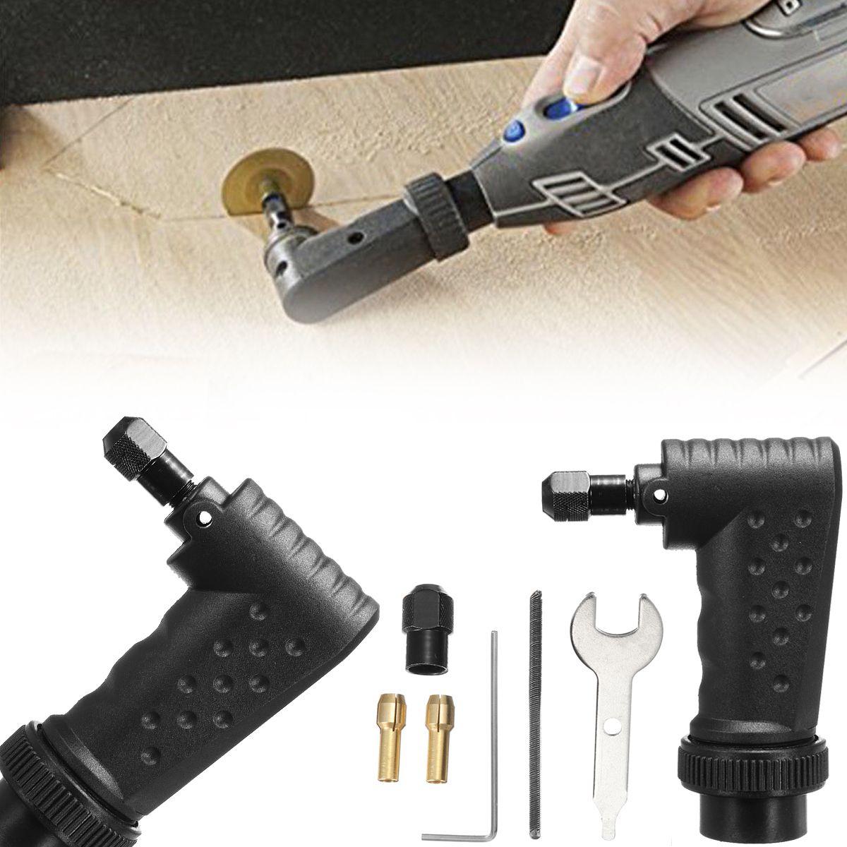 Convertisseur à Angle droit accessoire pour outil Dremel accessoires outils rotatifs fit Original 4000 3000 8200 275 Kit de meuleuse électrique